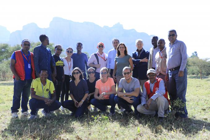 "Save the Children Italy Deputy CEO Daniella Fratella  & Board Members Visit Project sites of ""Education Integrated with Food Security"" in Tanquabergele and Hawzen woredas (Tigray)"
