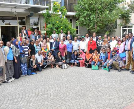 Members of the Ethiopian Parliament Sensitized on Malnutrition