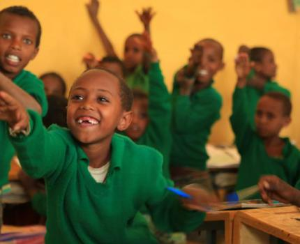 From Makeshift Shades to Proper Classrooms: Filimon's Story