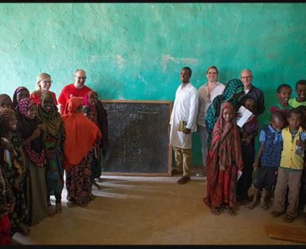 Private Sector Donors Visit Save the Children's Drought Emergency Programme in Ethiopia