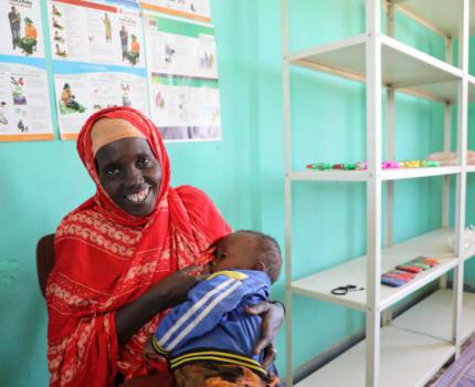 From losing six children to leading a healthier family life:  Meriem's Story