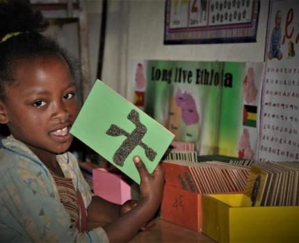 Running toward a Brighter Future: Story of a Little Kid in Pursuit of Knowledge