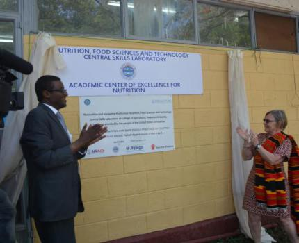 Academic Center of Excellence for Nutrition launched in Hawassa University