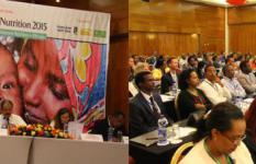 Panel discussion on the role research plays in shaping nutrition food policy in Ethiopia